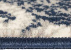 VidaXL Vloerkleed modern paisley ontwerp 120x170 cm beige/blauw
