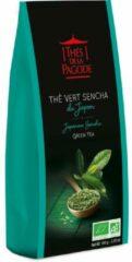 Groene Sencha thee - Biologische thee - Losse thee - Thés de la Pagode (100 gram)