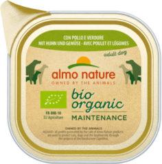 Almo Nature Alu Daily Menu Bio Adult 100 g - Hondenvoer - Kip&Wortel