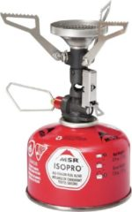 Grijze MSR Pocket Rocket DLX brander - gasbrander
