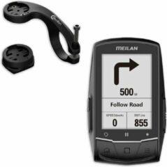 Zwarte Discountershop Fietscomputer - Fiets - Fietscomputer kopen - Navigatie - GPS - USB - Oplaadbaar