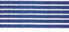 Merkloos / Sans marque 10x chenilledraad blauw 50 cm hobby artikelen - knutselen