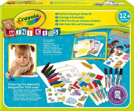 Afbeelding van Crayola Mini Kids: Kleur En Sticker Set