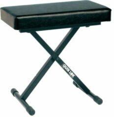 Zwarte QuikLok BX-718 - Keyboardbankje, luxe, extra dikke zitting