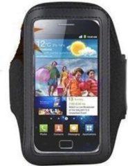 Zwarte ABC-Led Sport armband HTC desire HD