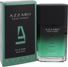 Azzaro Pour Homme WILD MINT - Eau de toilette spray - 100 ml