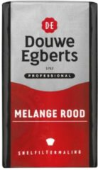 Rode Koffie Douwe Egberts snelfiltermaling roodmerk 250gr