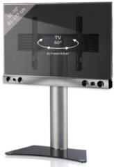 TV-Standfuß + Soundbar 'SBM200' | TV-Wandhalterung incl. Soundbarhalterung VCM silber/aluminium