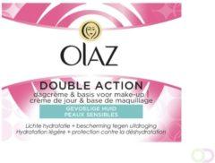 Olaz Essentials Double Action Dagcreme Gevoelige Huid Voordeelverpakking