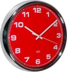 Cabanaz Retro Wandklok Scarlet Red - Cabanaz Retro Wandklok Scarlet Red