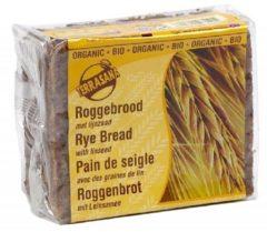 Terrasana Roggebrood Lijnzaad Bio (500g)
