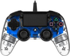 Nacon Officiele Gelicenseerde Compacte Bedrade LED Controller - PS4 - Blauw