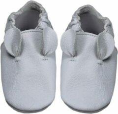 Hobea Babyslofjes grijs met oortjes (Loop)