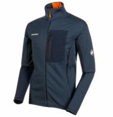 Mammut - Eiswand Guide Midlayer Jacket - Fleecevest maat M, wit/grijs/zwart/olijfgroen/zwart/olijfgroen/rood/zwart/olijfgroe