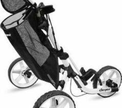 Zwarte Mesh Opbergzak Voor Clicgear trolleys