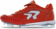 Ringor Dynasty Softbalschoenen met Kunstsof Spikes en Pitching Toe (PTT) - Oranje - US 7
