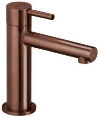 Roestvrijstalen Herzbach DESIGN iX pvd fonteinkraan zonder waste copper 4.5x15.5cm steel 21.950860.1.39