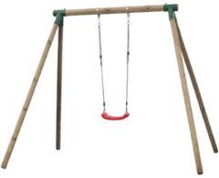 Bruine SwingKing Swing King schommel Analies enkelvoudig - rondhout