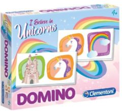 Domino Spel Voor Kinderen - Educatief Dominospel Unicorn/eenhoorn