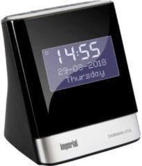 Imperial DABMAN d15 Wekkerradio DAB+, FM AUX, USB Accu laadfunctie Zwart