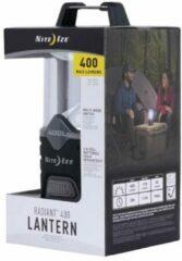 Zwarte Nite Ize Radiant 400 LED Lamp Lantern R400L-09-R8 Camping