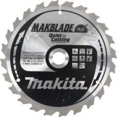 Makita Accessoires Zaagb Q+C 165x20x1,9 64T 10g - B-56502