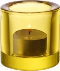 Gele Iittala Kivi Theelichthouder - 6 cm - Citroen
