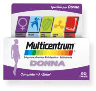 Multicentrum Donna Integratore Multivitaminico Multiminerale 90 Compresse