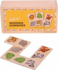 BIGJIGS Spel - Domino - Safari