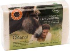 Zwarte Yogi & Yogini Zeep met ezelinnenmelk ongeparfumeerd BIO - 100 g - (1st.) - M