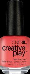 Roze CND Vinylux CND Creative Play - Jammin Salmon #405 - Nagellak