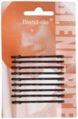 Zwarte Sibel - Blend Rite Haarschuifjes - Zwart - 5,0 cm - 9 Stuks
