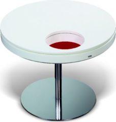 Esprit Tisch rund 65 cm weiss/ rot lackiert Esprit Home Neo