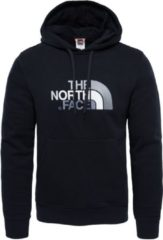Zwarte The North Face Drew Peak Pullover Hoodie Trui Heren - Tnf Black/Tnf Black - Maat XL