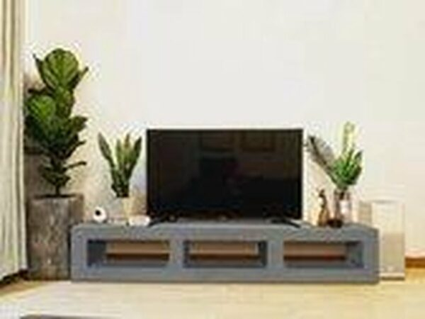 Afbeelding van Betonlook TV-Meubel open vakken | Stone | 200x40x40 cm (LxBxH) | Betonlook Fabriek | Beton ciré