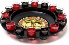 Relaxdays - drinkspel roulette - drinkspelletje -drankspel - 16 shotglaasjes