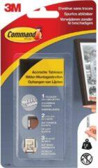 8x Command fotolijststrip, large, draagvermogen 7,2 kg, zwart, blister a 8 stuks