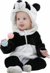 Witte JAXY Baby Onesie - Baby Rompertjes - Baby Pyjama - Baby Pakje - Baby Verkleedkleding - Baby Kostuum - Baby Winterpak - Baby Romper - Baby Skipak - Baby Carnavalskleding - 12-18 Maanden - Panda