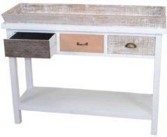 Anrichte Konsole Möbel-Direkt-Online cremeweiß