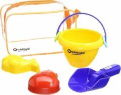 Spielstabil 4-Piece Sand Play Baby - Set classic in Zipper Bag