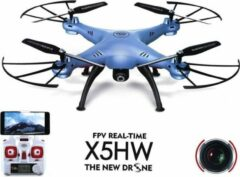 Witte Syma X5HW drone met HD camera FPV live wifi quadcopter -Blue