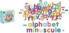 Magneten speelgoed ABC Alfabet letters van hout 81 stuks - Vilac