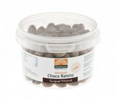Mattisson Voedingssupplementen absolute choco raisins raw 200g