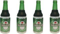 Koozie.eu Blik opzetstuk CAN CAP - 4 stuks - maak van je blikje een premium fles om uit te drinken - Echt glas - Groen