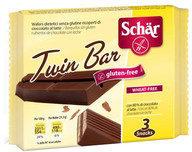 Schar Twin Bar wafers ricoperti di cioccolato al latte senza glutine 3x21,5g