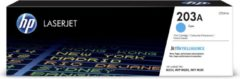 HP 203A CF541A Tonercassette Cyaan 1300 bladzijden Origineel Tonercassette