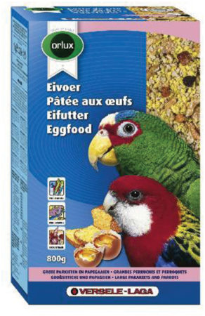 Afbeelding van Versele-Laga Orlux Eivoer Droog Gropar/Papagaai - Vogelvoer - 800 g
