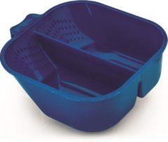 XANITALIA Verfbak 2 Compartiment / Blauw 700ml