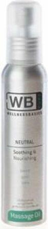 Afbeelding van WellnessBasics Massageolie Neutraal 500ML - Neutrale massageolie 500ML - Massageolie Geurloos