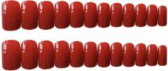 GUAPÀ - Plaknagels Rood + Plakstrips - High Quality - 24 stuks